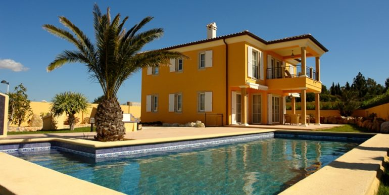 Mediterrane Villa in Moraira Coma de los Frailes - Pool - ID: 5500024 - Fertighaus Hanse Haus Spanien / in Deutschland hergestellt - Fotograf Torsten Bulk