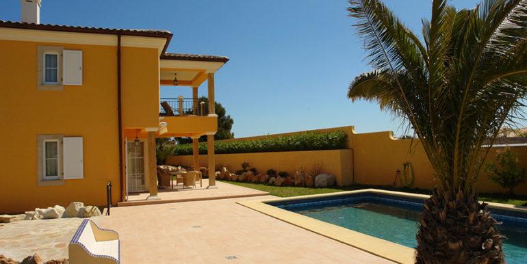 Mediterrane Villa in Moraira Coma de los Frailes - Pool Terrasse - ID: 5500024 - Fertighaus Hanse Haus Spanien / in Deutschland hergestellt - Fotograf Torsten Bulk
