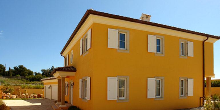 Mediterrane Villa in Moraira Coma de los Frailes - Seitenansicht - ID: 5500024 - Fertighaus Hanse Haus Spanien / in Deutschland hergestellt - Fotograf Torsten Bulk