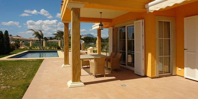 Mediterrane Villa in Moraira Coma de los Frailes - Terrasse - ID: 5500024 - Fertighaus Hanse Haus Spanien / in Deutschland hergestellt - Fotograf Torsten Bulk