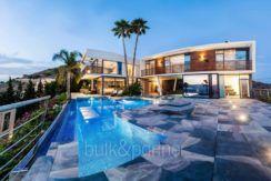 Villa exclusiva de diseño minimalista en Benidorm Sierra Dorada - ID: 5500052