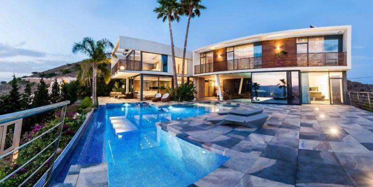 Moderne Design Villa in Benidorm Sierra Dorada - ID: 5500052