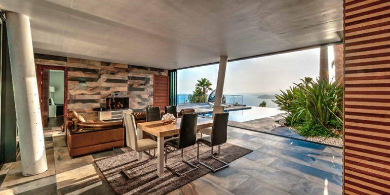 Moderne Design Villa in Benidorm Sierra Dorada - Essbereich - ID: 5500052