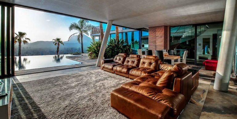 Moderna villa de diseño de lujo en Benidorm Sierra Dorada - Cuarto de estar - ID: 5500052