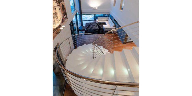 Moderne Design Villa in Benidorm Sierra Dorada - Treppe - ID: 5500052