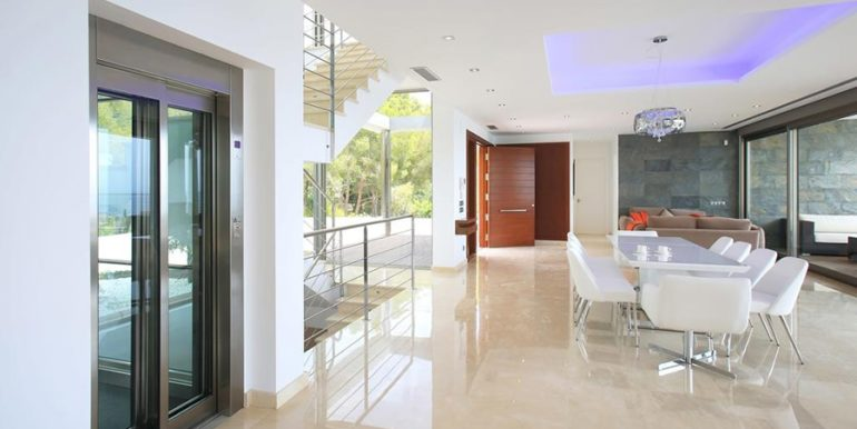 Exclusive first line luxury villa in Altéa Campomanes - Dining area - ID: 5500659 - Architect David Montés López