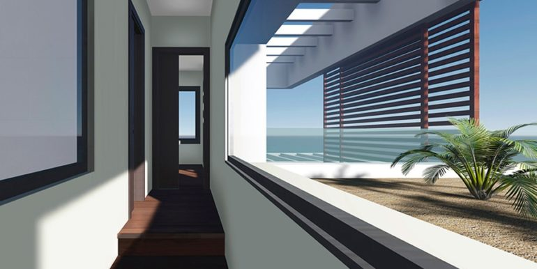 Modern luxury property in Moraira El Portet - Corridor - ID: 5500658