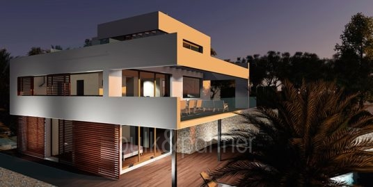 Modern luxury property in Moraira