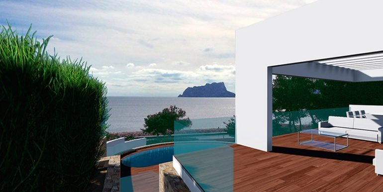 Modern luxury property in Moraira El Portet – Sea views – ID: 5500658