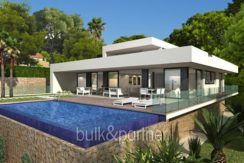 New build sea front luxuy villa in Moraira el Portet - ID: 5500657