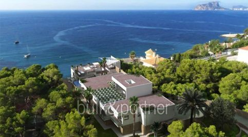 New build sea front luxuy villa in Moraira El Portet - Sea views - ID: 5500657