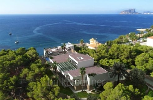 New build sea front luxuy villa in Moraira El Portet - Sea views - ID: 5500657 - Architect Joaquín Lloret