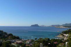Neubau Ibiza Style Luxusvilla in Moraira El Portet - Meerblick - ID: 5500011