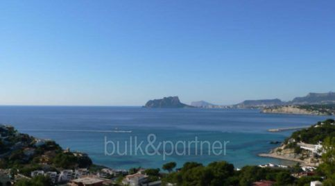New ibizan style luxury villa in Moraira El Portet - Sea views - ID 5500011 - Architect Joaquín Lloret