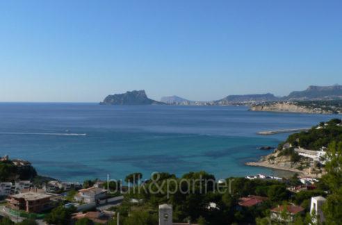 New ibizan style luxury villa in Moraira El Portet - Sea views - ID 5500011 - Architect Joaquín Lloret