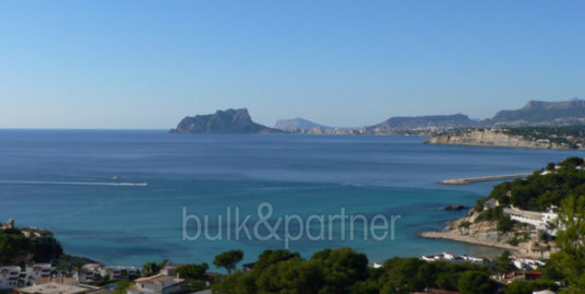 New build Ibiza style luxury villa in Moraira El Portet