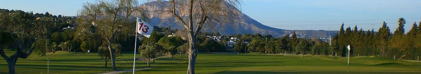Campos de golf Costa Blanca Norte
