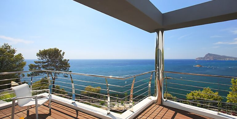 Exclusive first line luxury villa in Altéa Campomanes - Sea views - ID: 5500659 - Architect David Montés López