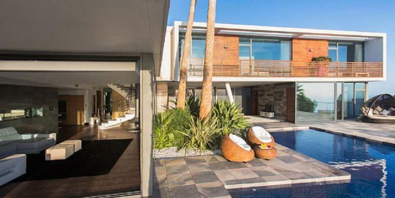 Moderna villa de diseño de lujo en BenidormSierra Dorada - Terraza piscina - ID: 5500052