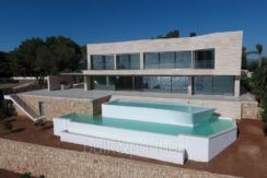 Gorgeous villa with exceptional sea views in Jávea Portichol - Pool and pool terrace - ID: 5500662