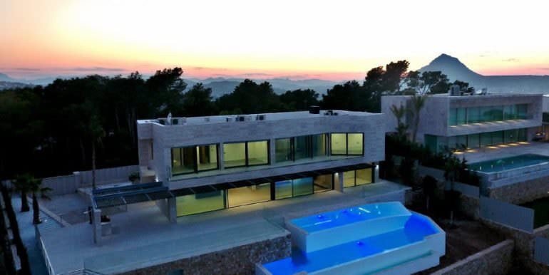 Gorgeous villa with exceptional sea views in Jávea Portichol - Total - ID: 5500662