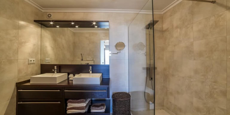 Luxury property with breathtaking sea views in Moraira Coma de los Frailes - Bathroom - ID: 5500661