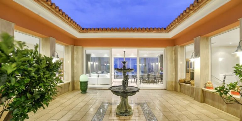 Luxury property with breathtaking sea views in Moraira Coma de los Frailes - Patio - ID: 5500661