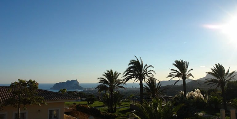 Luxury property with breathtaking sea views in Moraira Coma de los Frailes - Sea views - ID: 5500661