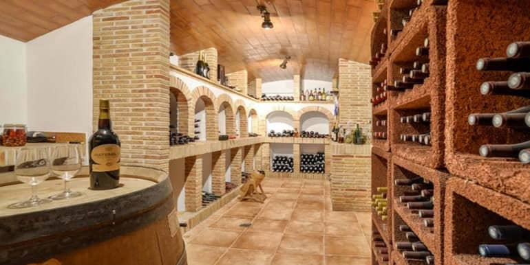 Luxury property with breathtaking sea views in Moraira Coma de los Frailes - Wine cellar - ID: 5500661