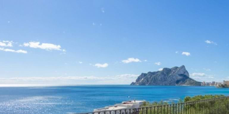 New luxury villa in sea front in Benissa Les Bassetes - Sea views up to Calpe and the Peñón de Ifach - ID: 5500664