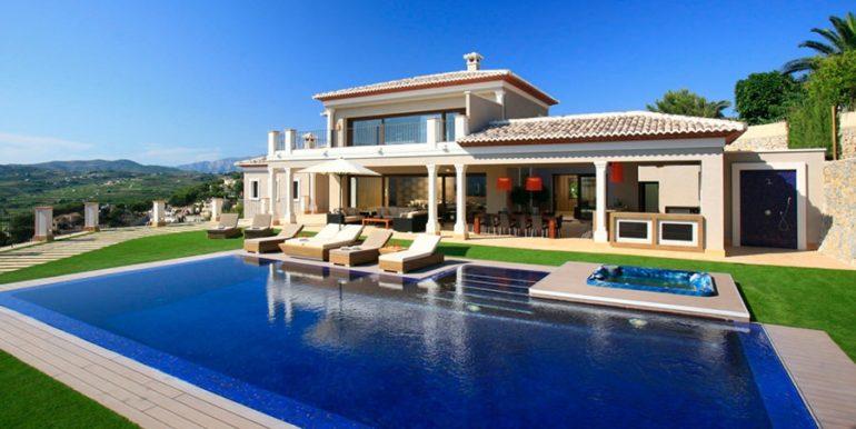 Unique luxury villa in exposed location in Moraira Paichi - ID: 5500660