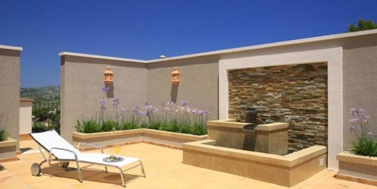 Unique luxury villa in exposed location in Moraira Paichi - Fountain - ID: 5500660