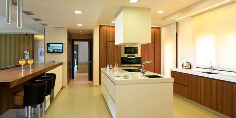 Unique luxury villa in exposed location in Moraira Paichi - Kitchen - ID: 5500660