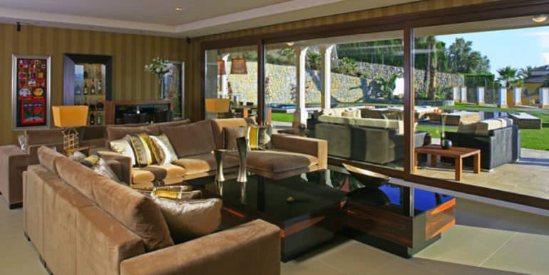 Unique luxury villa in exposed location in Moraira Paichi - Living room - ID: 5500660