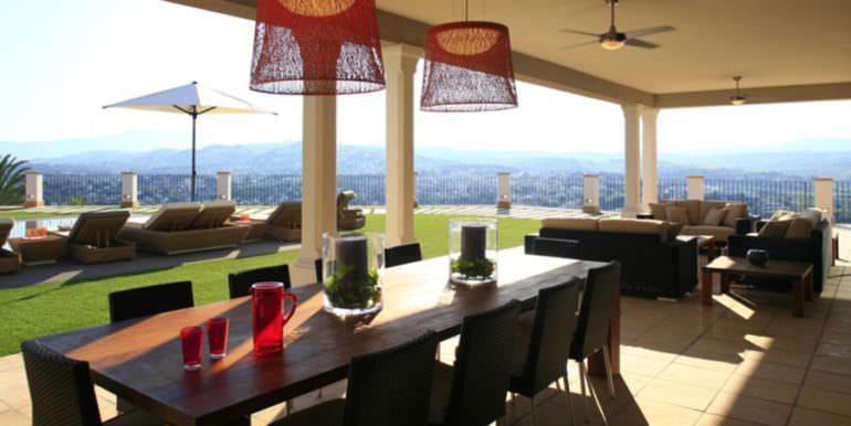Unique luxury villa in exposed location in Moraira Paichi - Terrace - ID: 5500660