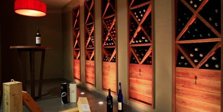 Unique luxury villa in exposed location in Moraira Paichi - Wine cellar - ID: 5500660
