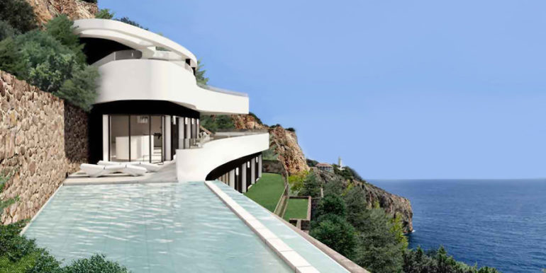 Luxury property on the seafront in Jávea Ambolo - Infinity pool and sea views - ID: 5500672 - Architect POM Architectos
