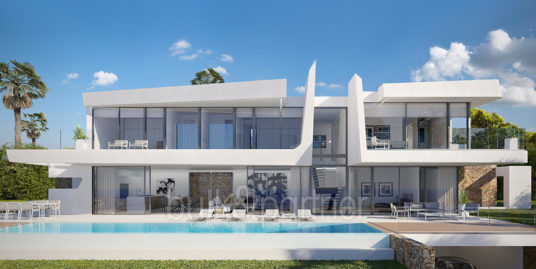 Luxury villa with beautiful sea views in Moraira Benimeit