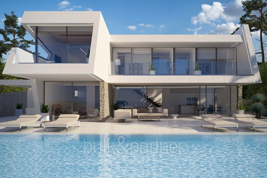 Luxury villa with perfect sea views in Moraira Benimeit