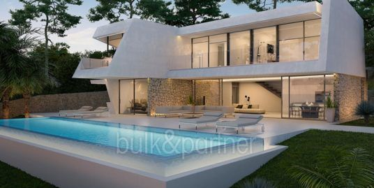 Luxury villa with perfect sea views in Moraira Benimeit