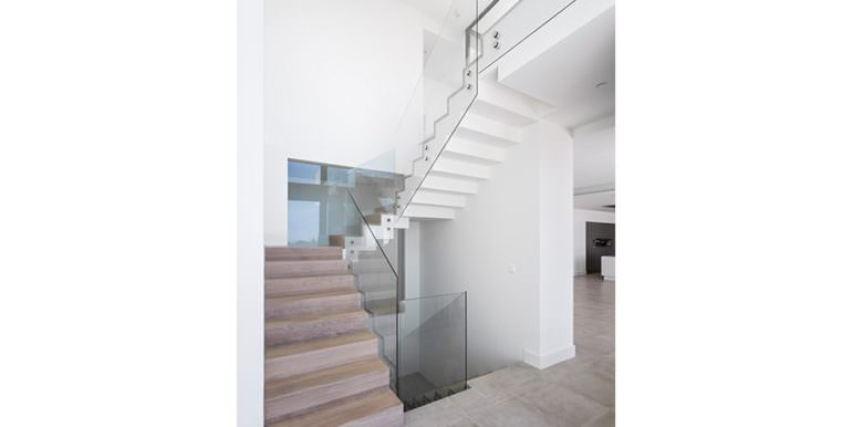 Modern luxury villa with sea views in Altéa Hills - Staircase - ID: 5500676 - Architecture by Pepe Giner - Photographer Germán Cabo