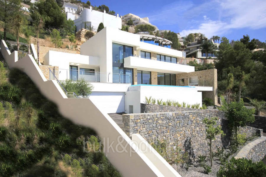 Modern luxury villa with sea views in Altéa Hills