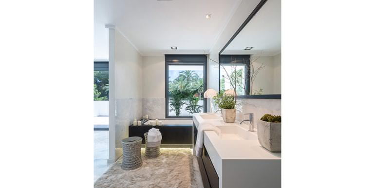 Newly-built villa in the most exclusive area in Moraira Cap Blanc - Bathroom - ID: 5500665 - Photographer: Germán Cabo