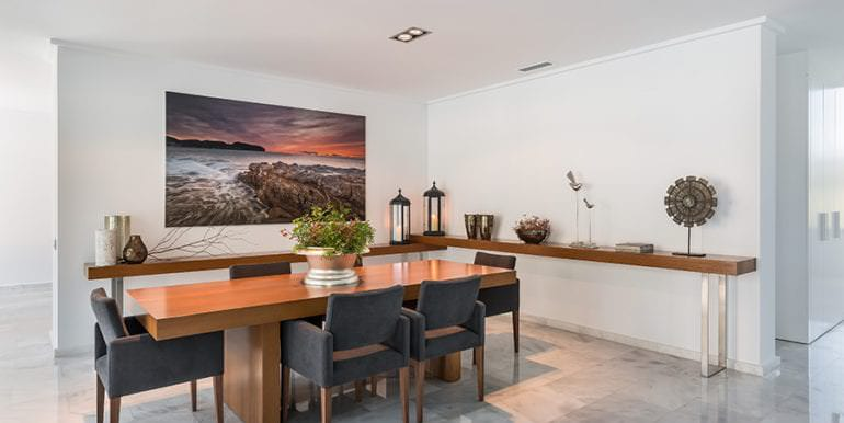 Newly-built villa in the most exclusive area in Moraira Cap Blanc - Dining area - ID: 5500665 - Photographer: Germán Cabo