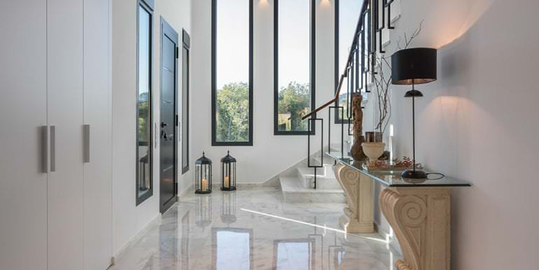 Newly-built villa in the most exclusive area in Moraira Cap Blanc - Hall - ID: 5500665 - Photographer: Germán Cabo