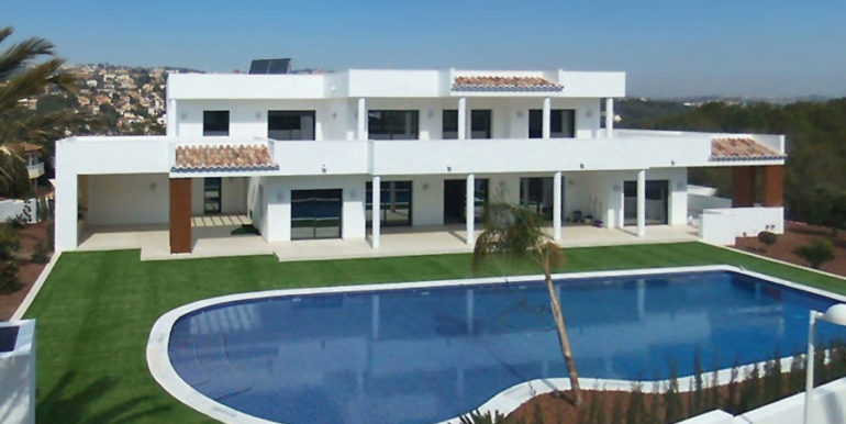 Newly-built villa in the most exclusive area in Moraira Cap Blanc - Villa, Pool and Garden - ID: 5500665 - Photographer: Germán Cabo