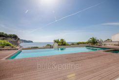 Seafront luxury villa in Benissa Cala Advocat - Pool terrace and sea views - ID: 5500677
