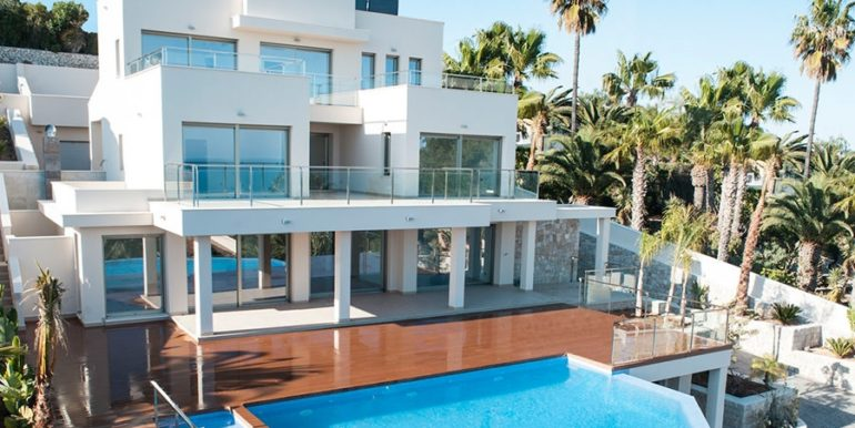Wonderful new villa with stunning sea views in Moraira San Jaime - ID: 5500675