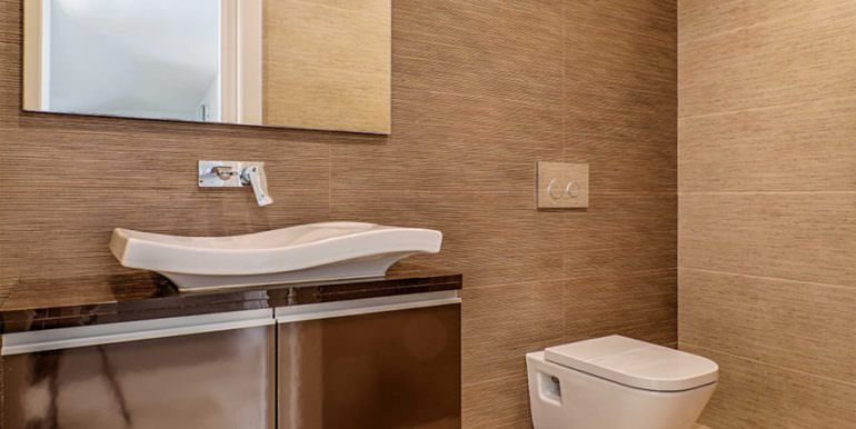 Wonderful new villa with stunning sea views in Moraira San Jaime/Moravit - Guest toilet - ID: 5500675