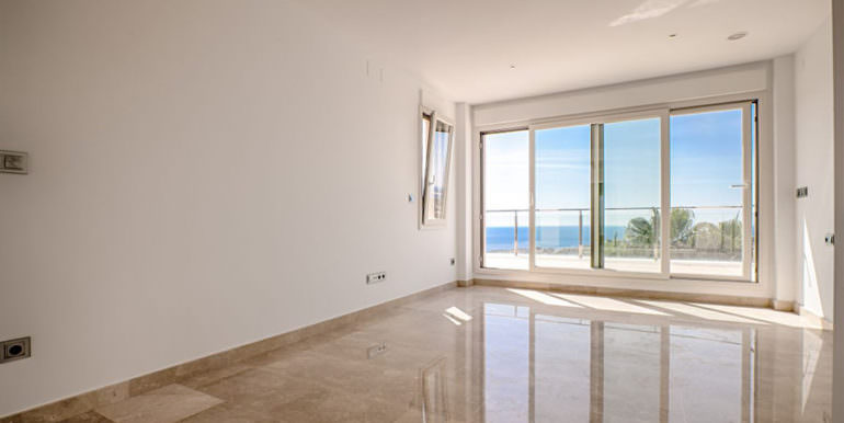 Wonderful new villa with stunning sea views in Moraira San Jaime/Moravit - Bedroom with sea views - ID: 5500675